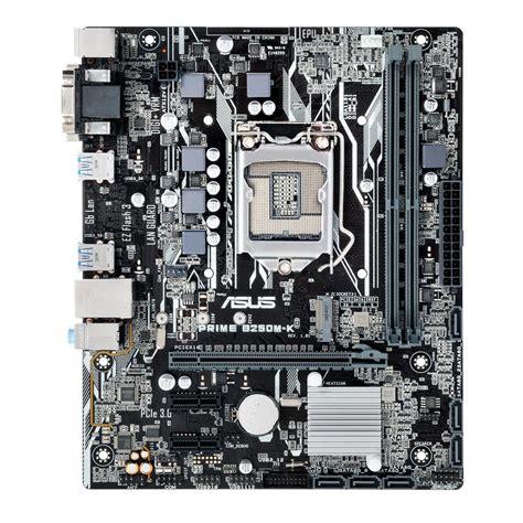 Motherboard Asus B250m A Prime Lga 1151 Asus Prime B250m K Lga 1151 M Atx Motherboard Prime B250m
