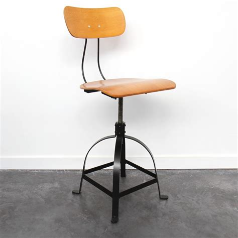 chaise architecte style industriel jb pennel drawer