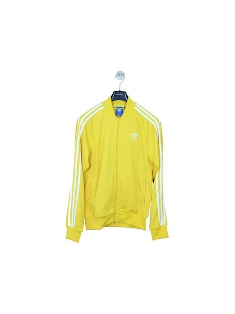 Adidas Tracking Yellow adidas sst track top in yellow northern threads