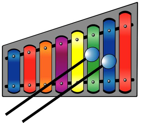 C Xylophone file xylophone colourful svg wikimedia commons