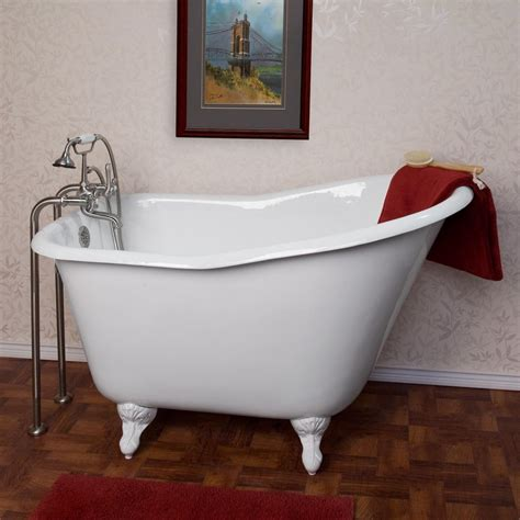 refinishing cast iron bathtubs affordable clawfoot tub refinishing the wooden houses