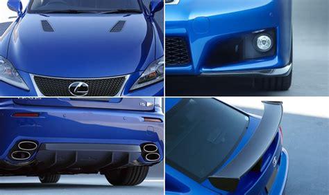 Lexus Isf Parts by Trd Lexus Is F Exterior Aero Parts