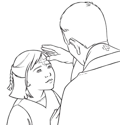 ash wednesday coloring pages az coloring pages