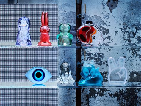 design art even ikea unveils glass sculptures created by artists with