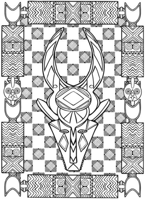 african designs coloring pages eyes on merapi african art designs coloring pictures news