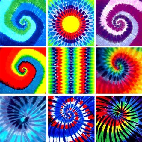 tie dye bandanas 9 patterns