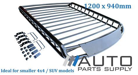 4x4 Roof Rack Baskets by 1200x940mm Car 4wd Roof Rack Storage Basket Tubular Steel Design