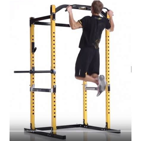Powertec Squat Rack by Powertec Power Rack Stronger More Stable More Features