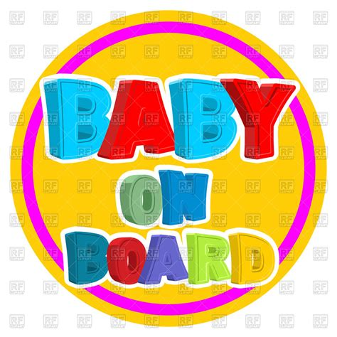 baby on board template gallery templates design ideas