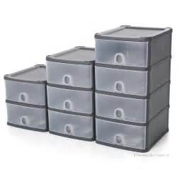 Plastic Drawers by Wham Handy Plastic Stackable Two 2 Drawer Unit A5 Paper