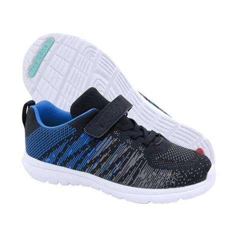 Sepatu Anak Black Toddler jual toezone yt sepatu anak laki laki black blue harga kualitas