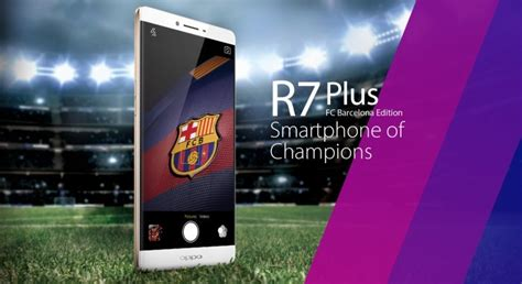 Oppo R7 Barca2 Custom Hardcase Casing Cover oppo launches r7 plus fc barcelona limited edition for 550