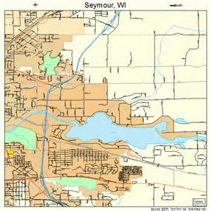 seymour map seymour wisconsin map 5572670