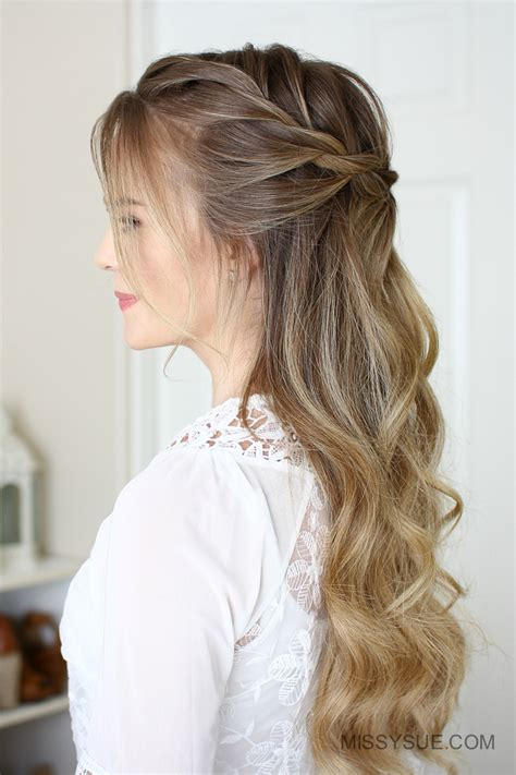 rope braid hairstyles for long hair 3 easy rope braid hairstyles fsetyt com