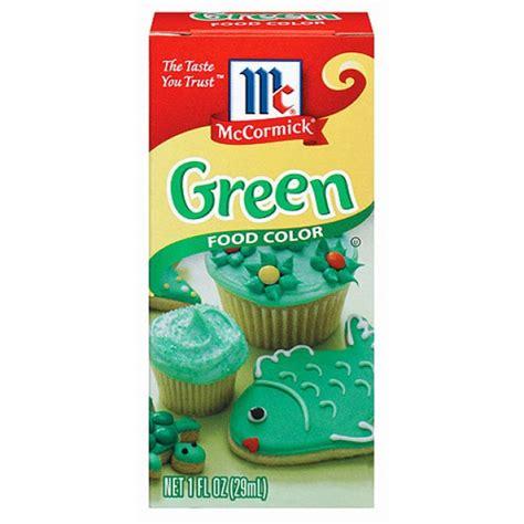 green food coloring mccormick green food coloring