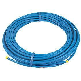 Blue Plumbing Pipe by Mdpe Pipe Blue 20mm X 50m Mdpe Pipe Screwfix