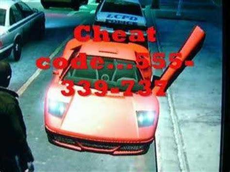 Gta 4 Cheats Xbox 360 Lamborghini Gta4 Infernus