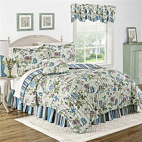 bed bath and beyond charleston wv buy waverly 174 charleston chirp larkspur reversible twin
