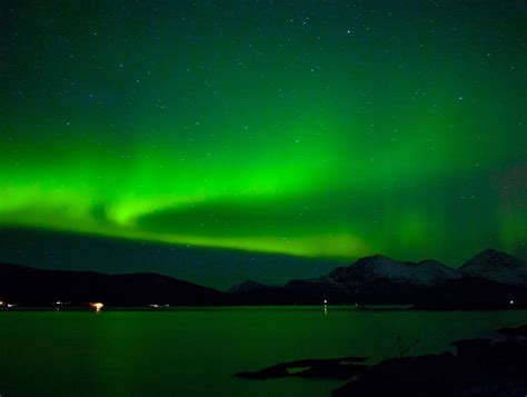 The shifting shapes of the northern lights are mesmerizing time
