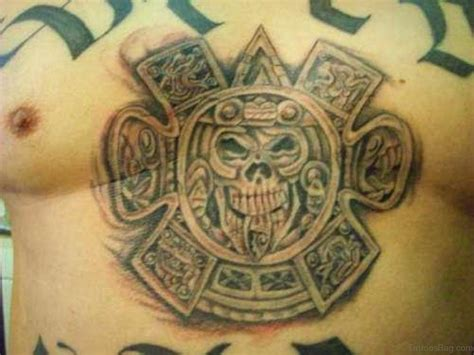 aztec sun tattoo designs 50 traditional aztec tattoos for chest