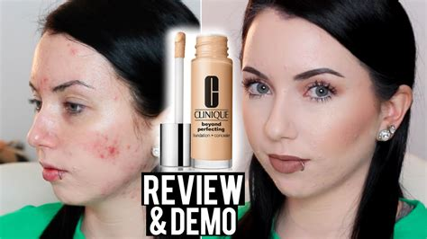 Clinique Acne Solutions Foundation clinique beyond perfecting foundation concealer review