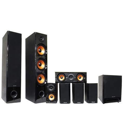 Home Theater Karaoke acesonic sp 710 7 1 surround sound karaoke home theater speaker system