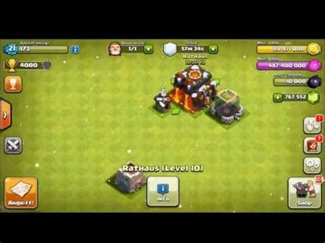 clash of clans hacked apk clash of clans hack mod apk 6 407 version everything unlimited apkfriv