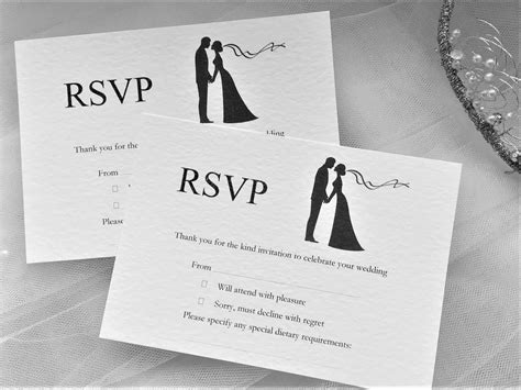 rsvp card wording wedding wedding rsvp wording ideas and format
