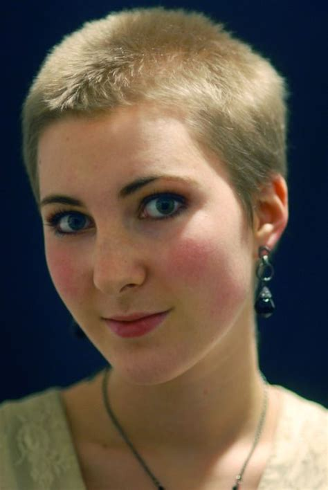 buzzed hair and balding girl buzzcut yahoo image search results stacy