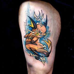 raichu tattoo new school tattoos best ideas gallery