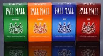 pall mall colors why does the government keep promoting cigarette