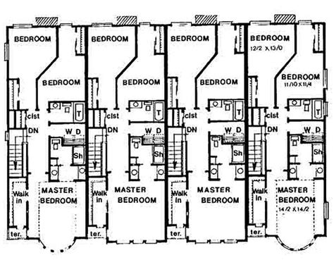 three story floor plans story house floor plans