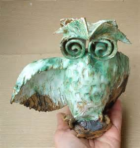home decor owls cute wise owl home decor owl ceramic sculpture fan art