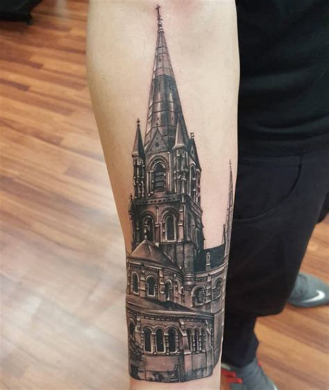 21 awesome architecturally inspired tattoo designs