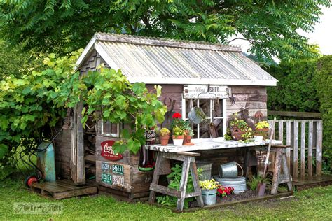 A Garden Shed by 14 Whimsical Garden Shed Designs Storage Shed Plans