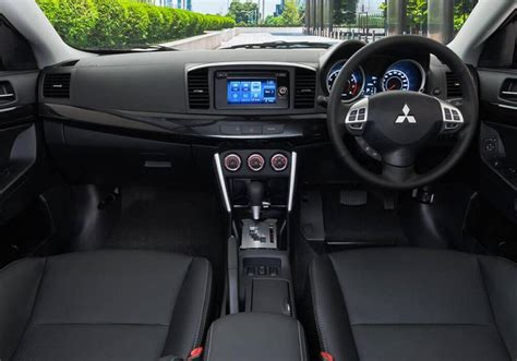 mitsubishi lancer 2016 interior 2017 mitsubishi lancer review release date and price