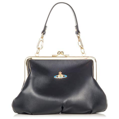 Vivienne Westwood Label Bags by Vivienne Westwood Nappa Bag 3655 Black Vivienne