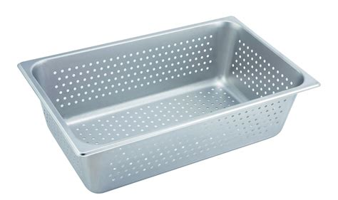 steam table pan size 6 winco steam table pan size 6 in perforated