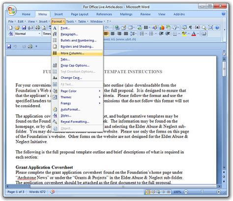 Menu Office by How To Bring Back The Menus In Office 2007