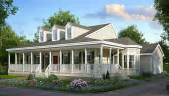 One Story Wrap Around Porch House Plans by 5632 3 Bedrooms And 2 Baths The House Designers