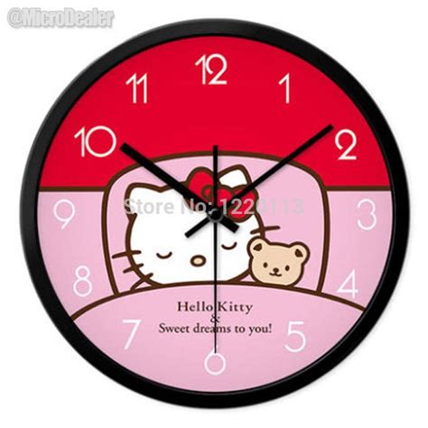 cartoons clock themes 12 inch circular metal wall clock cartoon theme silent
