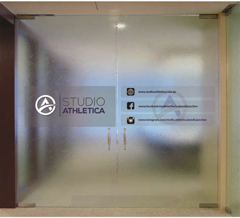Decals For Glass Doors Design Glass Door Sticker Freelancer