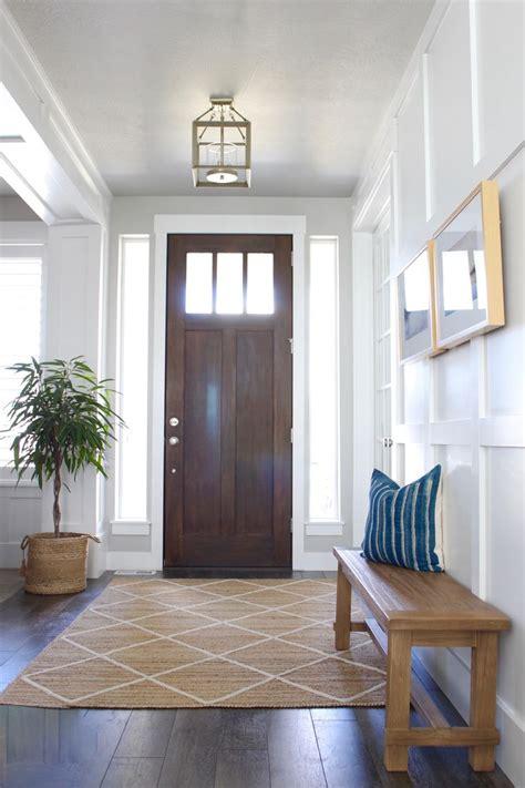 entry  living room update entryway rug