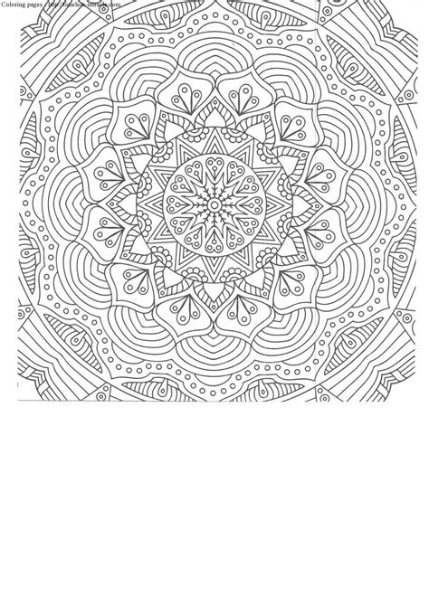 printable coloring pages intricate intricate coloring pages printable