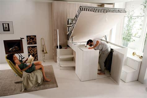 letto matrimoniale soppalco con armadio sotto arredamenti ballabio lissone container il letto con l