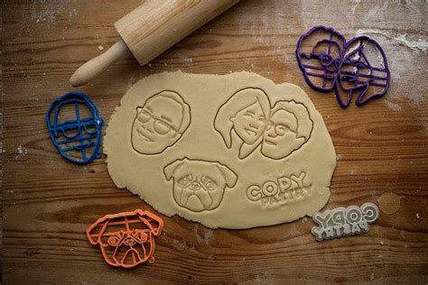 printed customized cookie cutters logos pets