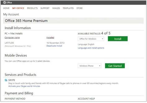 Office 365 Desktop Setup Office 365 Home Premium Desktop Install Free