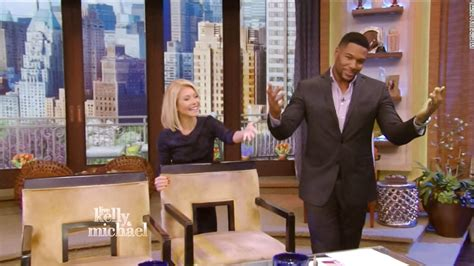 live with kelly michael michael strahan signs off on live ending awkward month