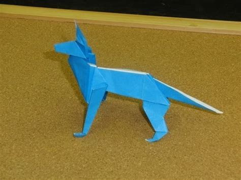 How To Make A Puppy Out Of Paper - daily origami 124 school origami shepherd
