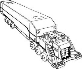 Picture Of Semi Truck Coloring Page  Download &amp Print Online sketch template
